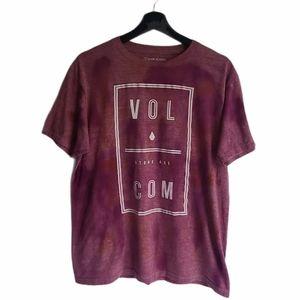 - Volcom Logo Dye Wash Tshirt